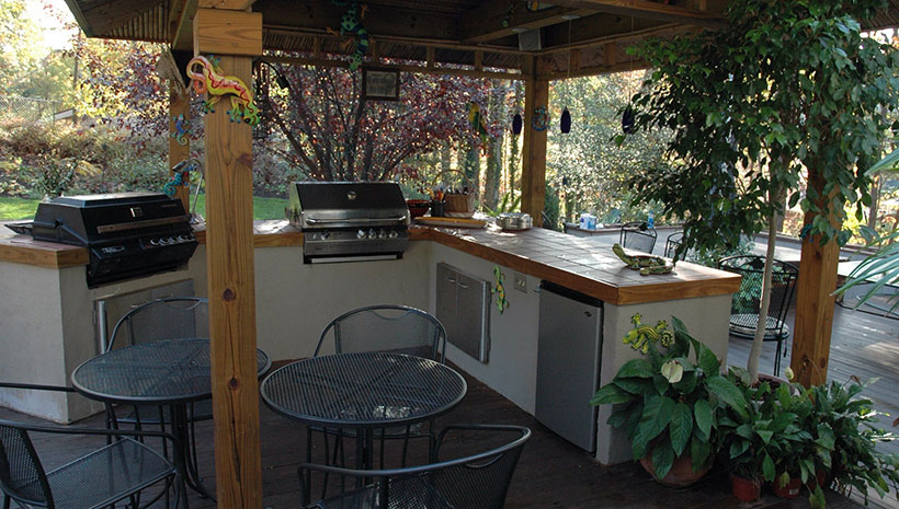 My First Outdoor Kitchen