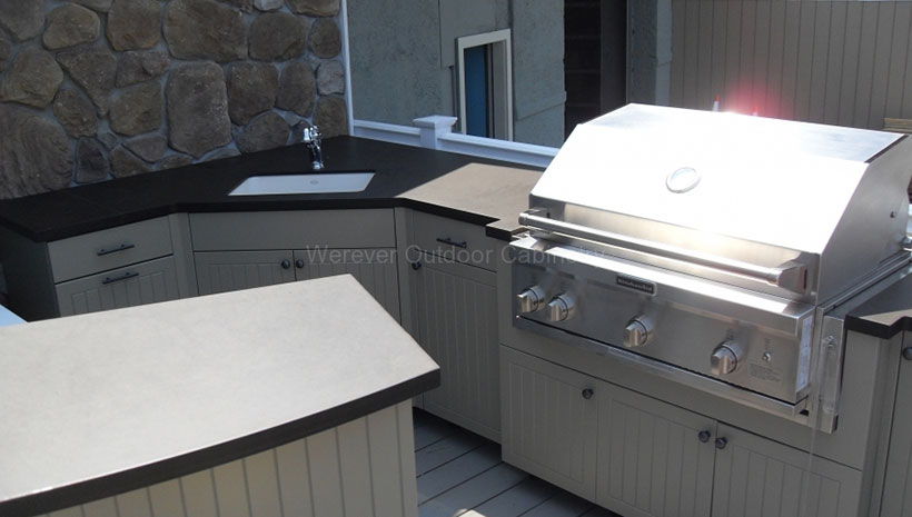 Werever Hdpe Outdoor Cabinets | Affordable Outdoor Kitchens