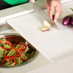 salad-prep-on-white-resin-dual-tier-cutting-board-and-dual-tier-platform-with-bowl