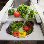 Galley-Ideal-Workstation-kitchen-sink-gray-resin-veggies-wash