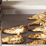 upper-tier-half-sheet-pan-and-grilled-chicken-breasts