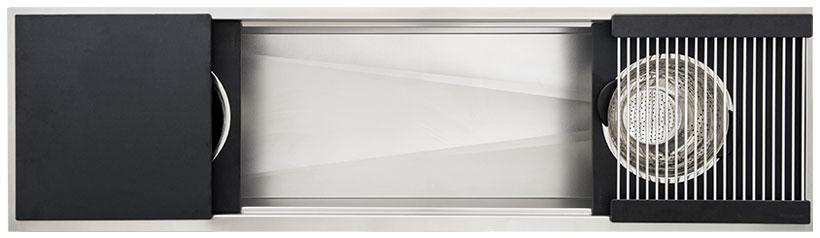 Ideal-Workstation-6-Single-Bowl-Graphite-Wood-Composite