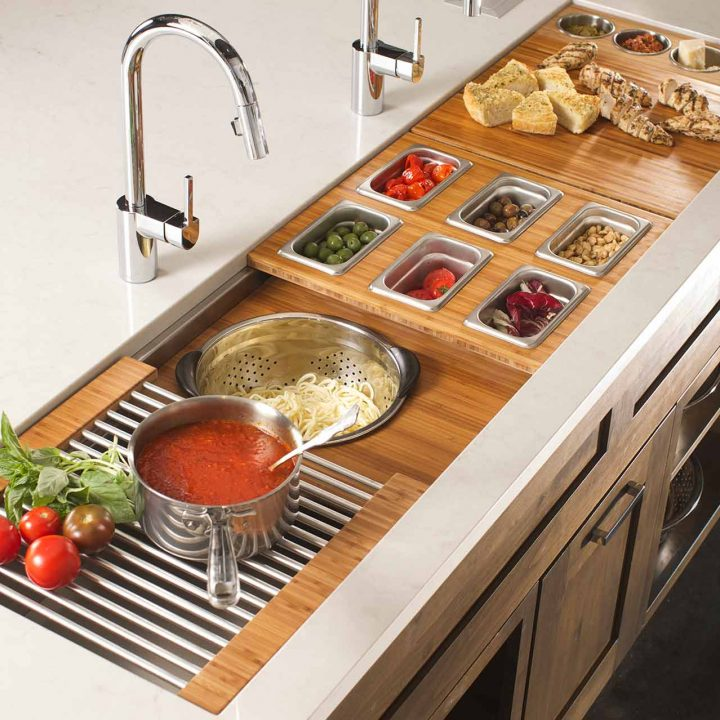 9/25/14 6:21:24 PM -- Kitchen interiors of The Galley sink at Metro Appliance for Kitchen Ideas/The Galley  Photo by Shane Bevel