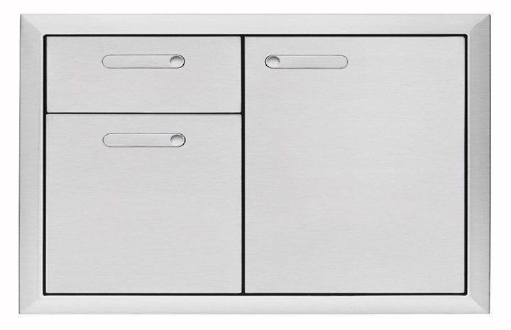 Lynx-Ventana-Storage-Collection-36-Inch-Storage-Door-&-Double-Drawer-Combination-LSA36-4