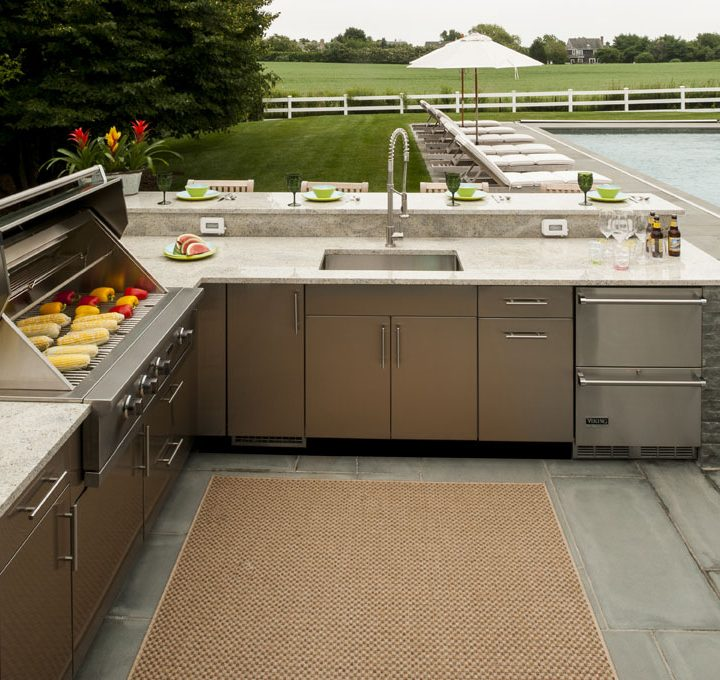 Danver Stainless Steel Outdoor Cabinets | Affordable Outdoor Kitchens