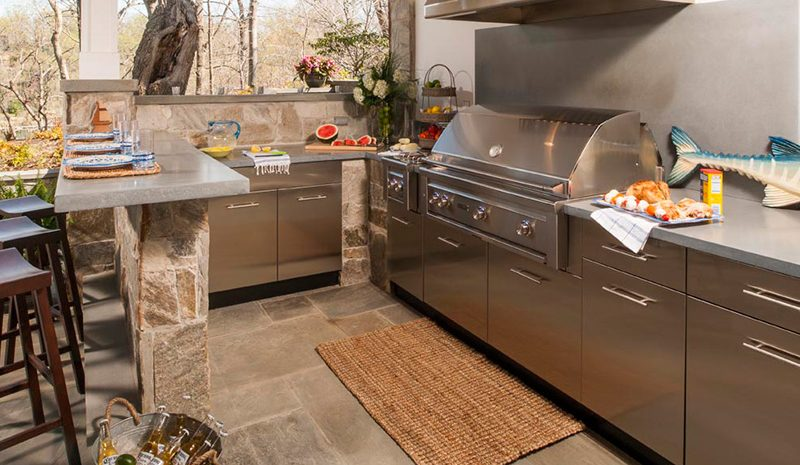 Danver Stainless Steel Outdoor Cabinets Affordable Outdoor Kitchens