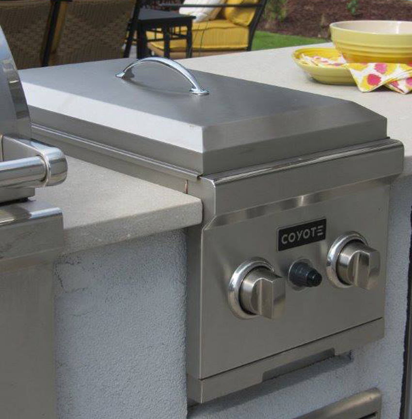 Coyote Built-In Propane Gas Double Side Burner