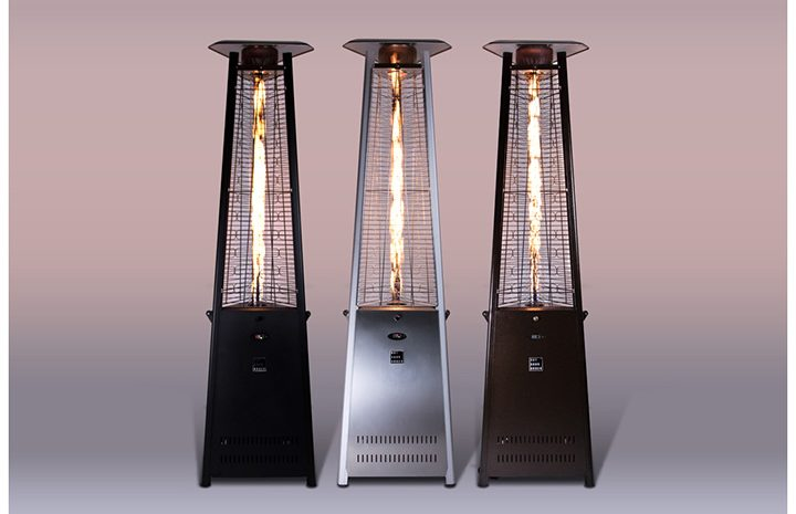 outdoor tower heater