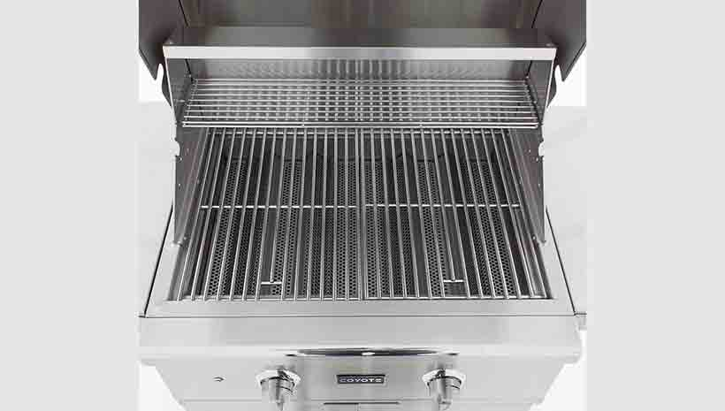 Coyote c series 28 inch 2 burner gas grill affordable for Coyote outdoor grills reviews