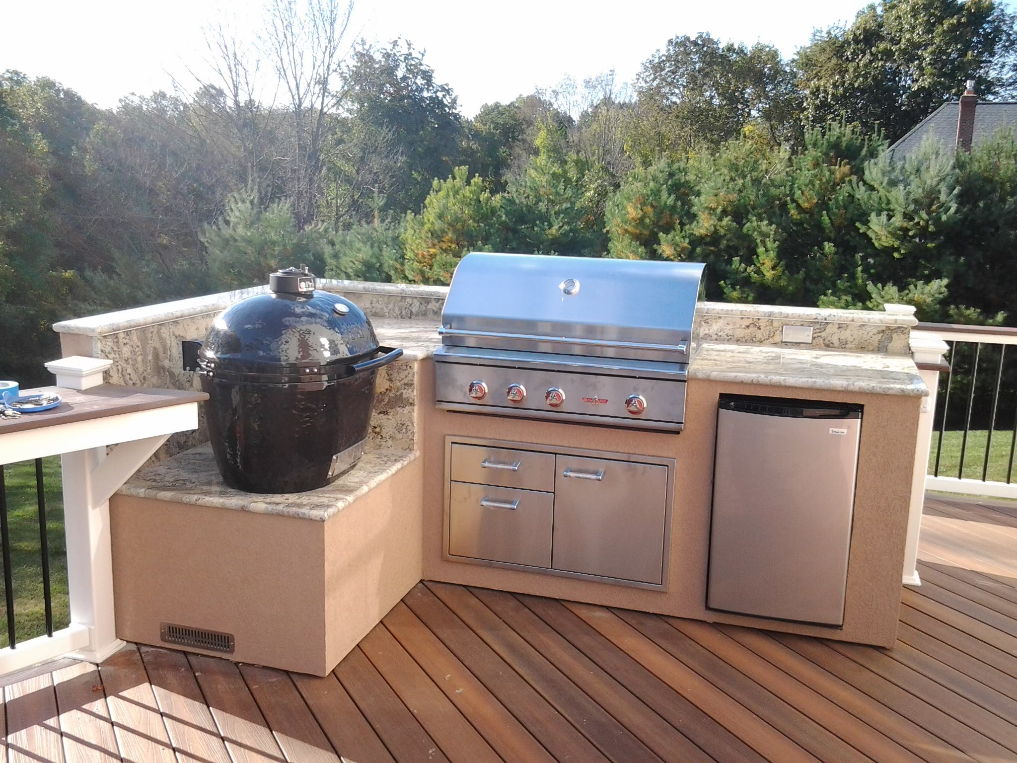 Outdoor Barbecue Grills Affordable Outdoor Kitchens