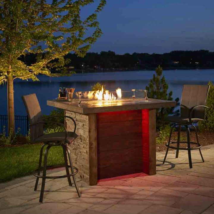Marquee Gas Fire Table