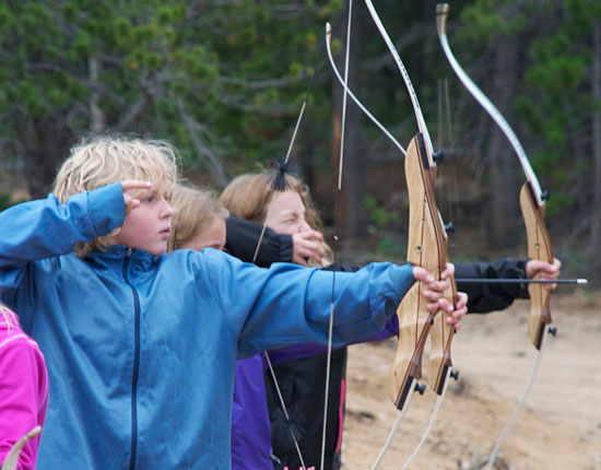 . . .and learn archery safety and skills on our own range!
