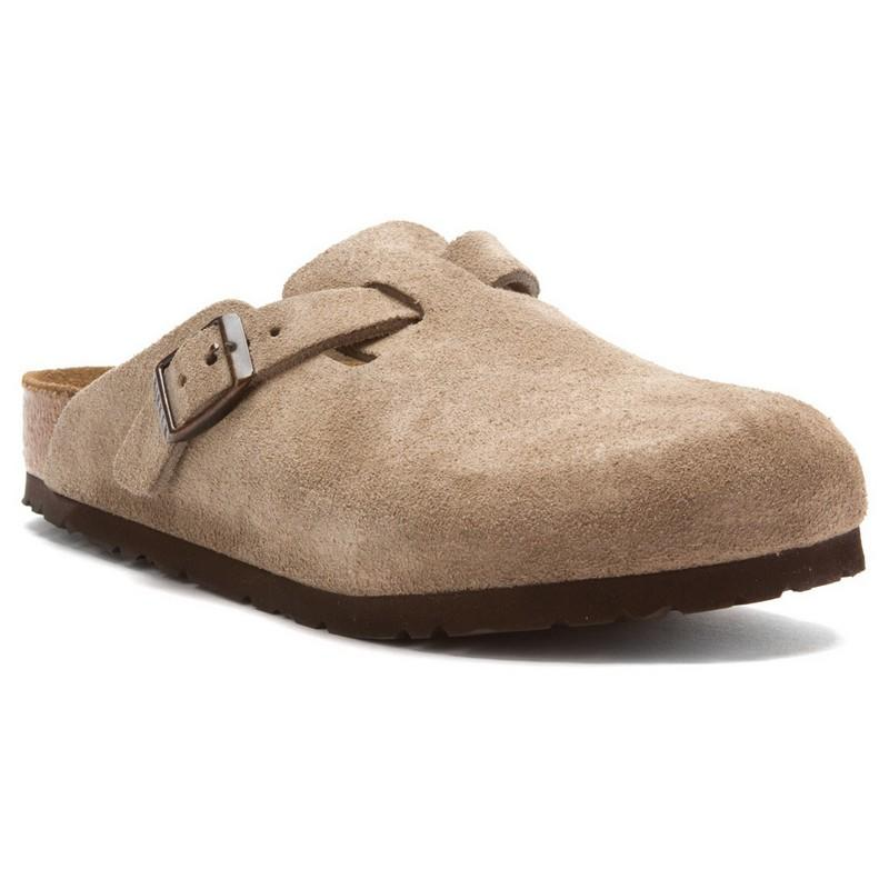 Women's Boston Suede Soft Footbed Clogs uXuU9lX