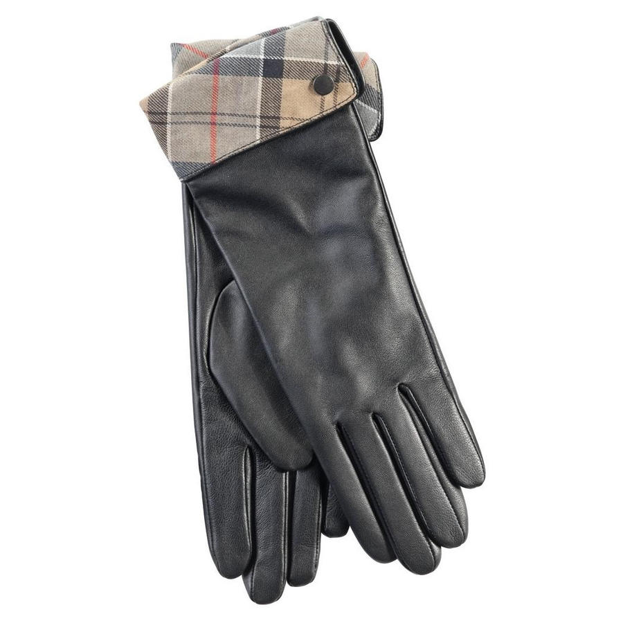 Barbour black leather utility gloves - Barbour Women S Lady Jane Leather Gloves