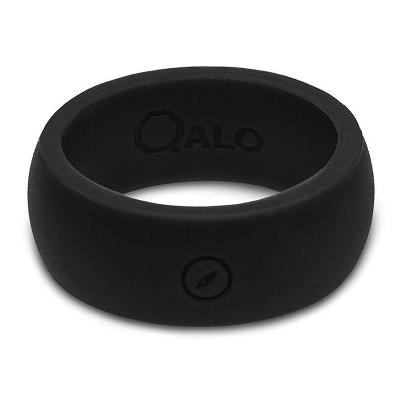 QALO Mens Outdoors Silicone Wedding Band Alabama Outdoors