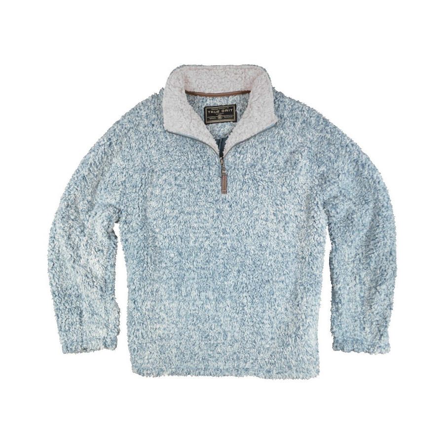 True Grit Kids' Frosty Tipped Pile ¼ Zip Fleece Pullover - Alabama ...
