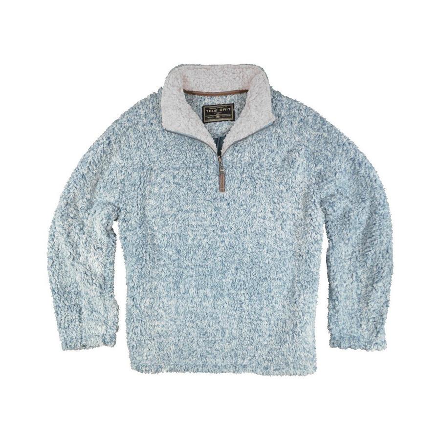 c2904405a62e True Grit Kids  Frosty Tipped Pile ¼ Zip Fleece Pullover - Alabama Outdoors