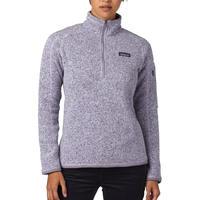 Patagonia Womens Better Sweater Quarter Zip Fleece Pullover Water