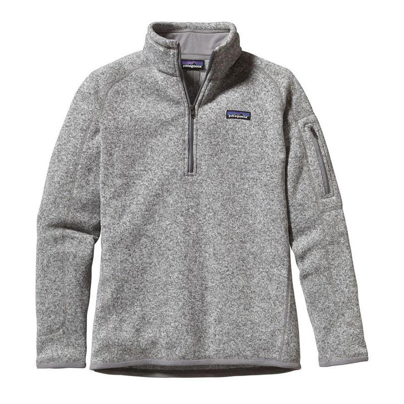 Patagonia Women's Better Sweater Quarter-Zip Fleece Pullover ...
