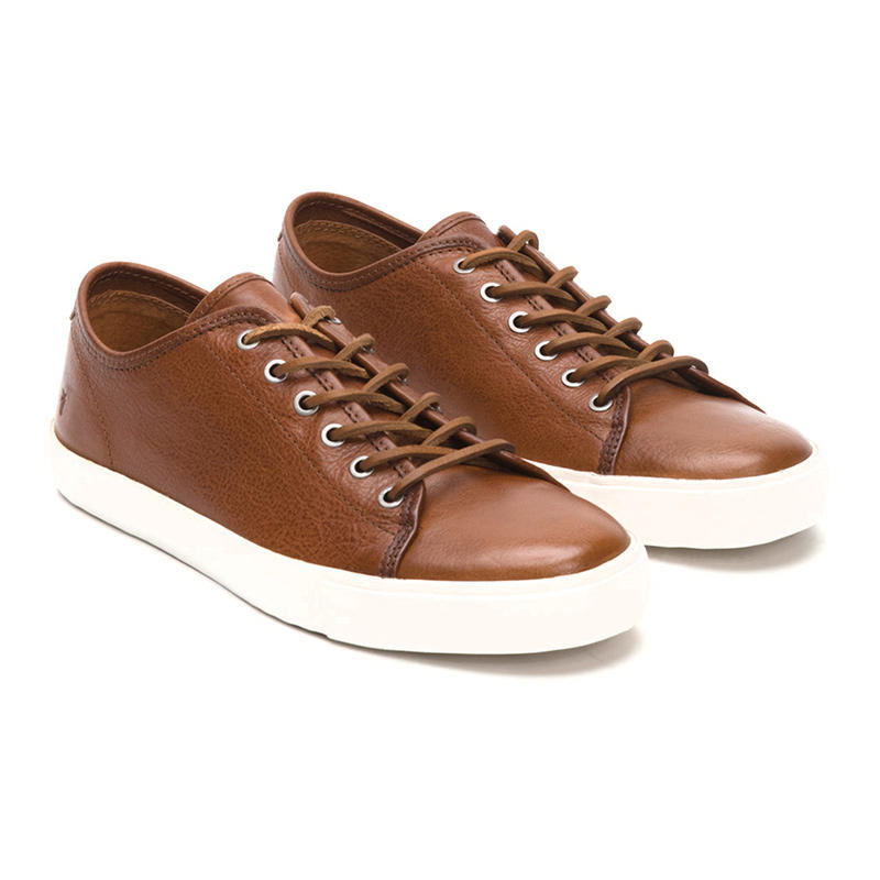 Frye Men's Brett Low Leather Sne... discount best store to get discount latest cheap sale reliable clearance how much prices online B9J972DB4U