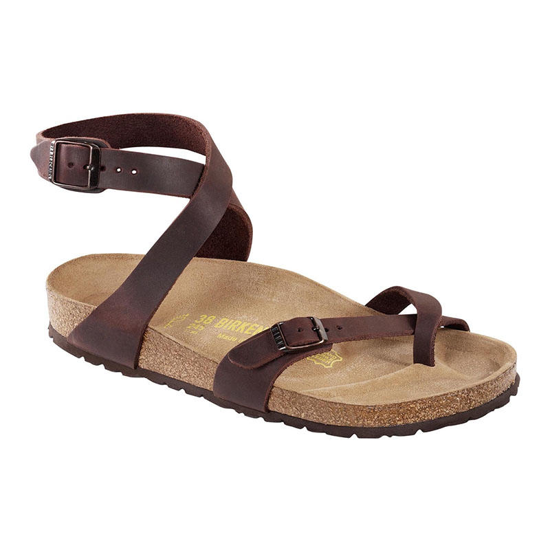 d0a81bb51de2 Birkenstock Women s Yara Habana Oiled Leather Sandals - Alabama Outdoors