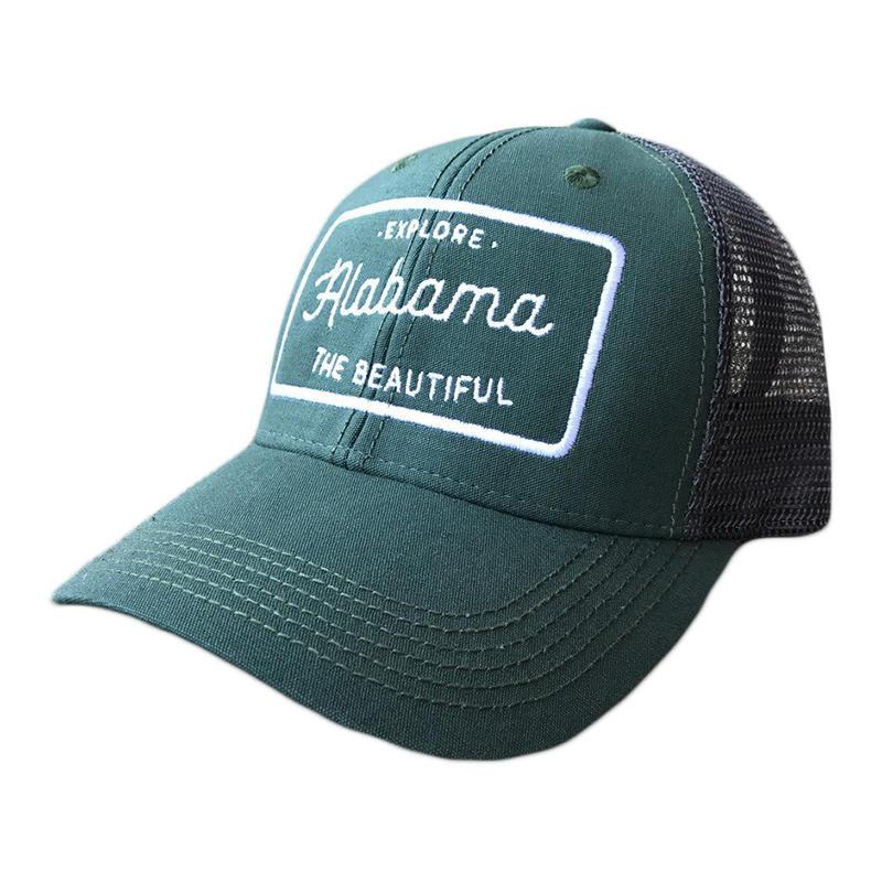 a58e6e4c3fd Alabama Outdoors  Alabama the Beautiful  Lo Pro Trucker Hat - Alabama  Outdoors