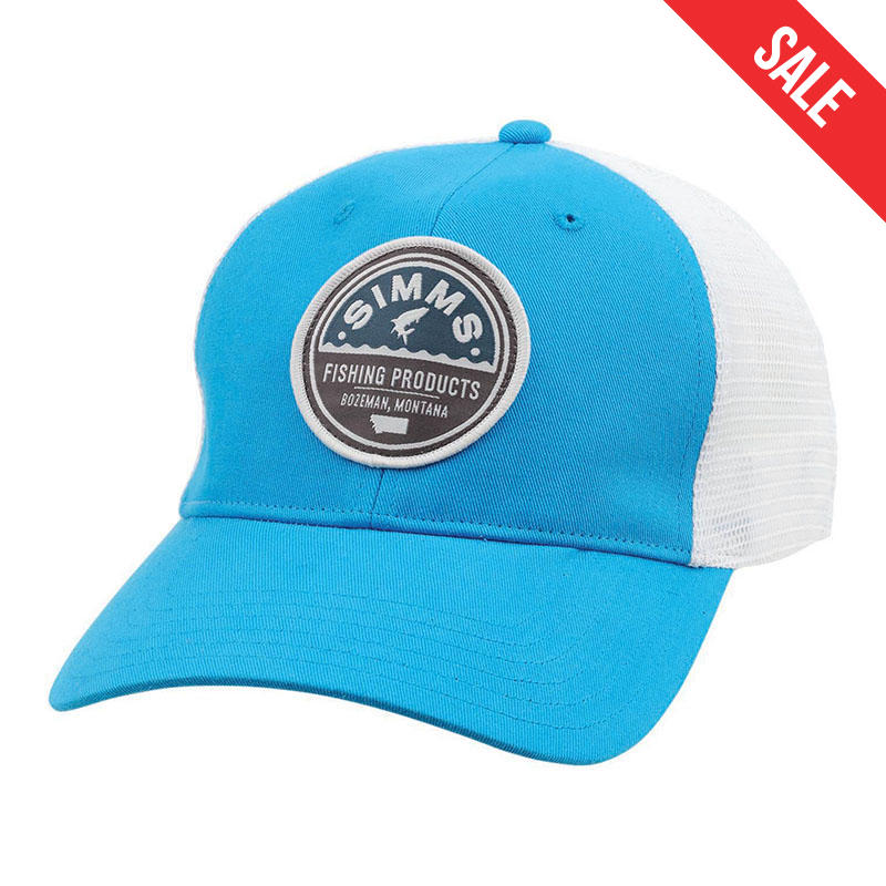 7064bdcbcb2fa Simms Men s Patch Trucker Hat - Water and Oak Outdoor Company