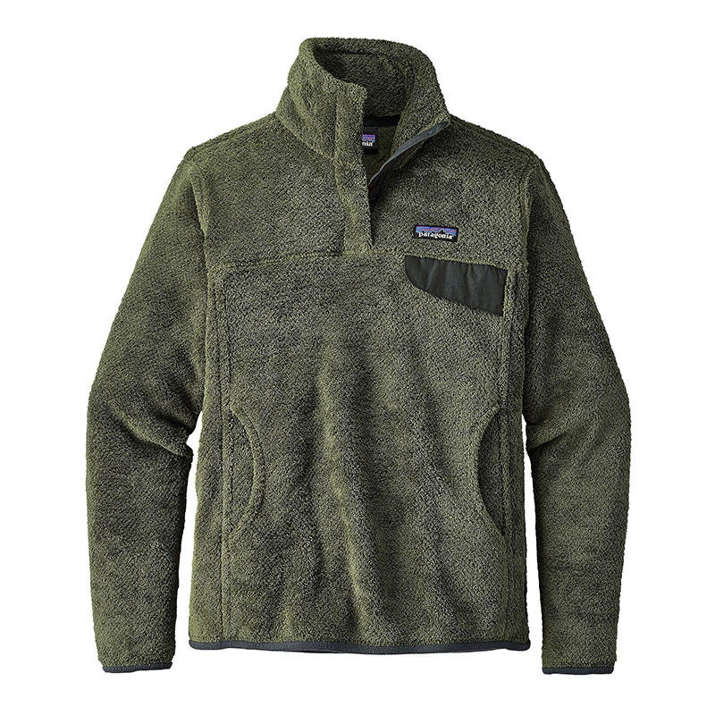 Patagonia Women's Re-Tool Snap-T Fleece Pullover - Water and Oak ...