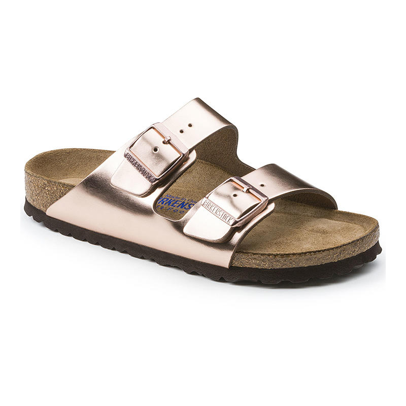 8aa5efc5ccbc Birkenstock Women s Arizona Soft Footbed Sandals - Water and Oak ...