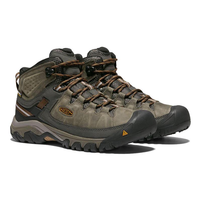 70f3d292870 KEEN Men's Targhee III Mid Waterproof Hiking Boots - Alabama Outdoors