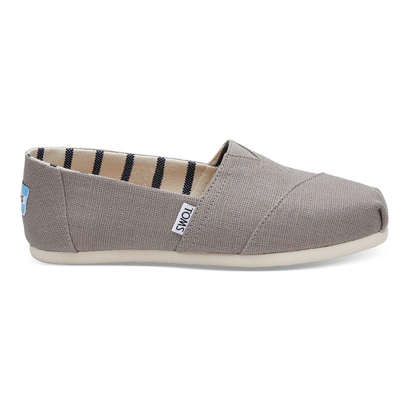7e3f9db96dc TOMS Women s Morning Dove Heritage Canvas Classic Shoes - Water and ...