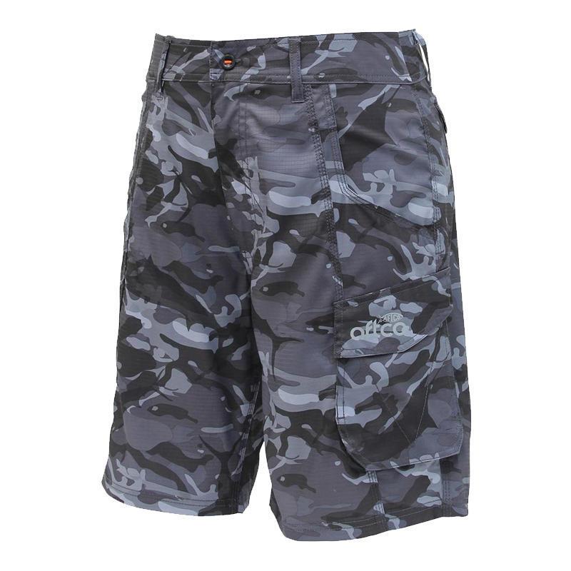 abe8ca251dc17 AFTCO Boys  Camo Original Fishing Shorts - 6