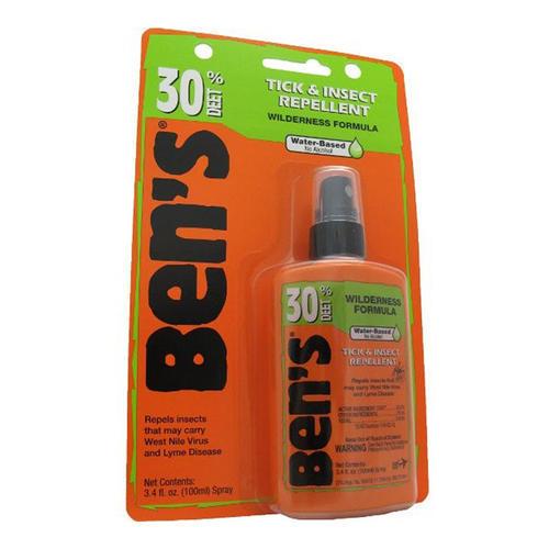c38f87fe97bf Ben's 30 Deet Pump Insect Spray - 3.4 oz