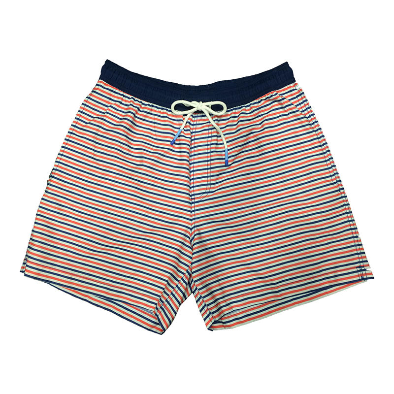 d2cfec376449a Southern Tide Men's Freedom Rocks Striped Swim Trunks - Water and ...