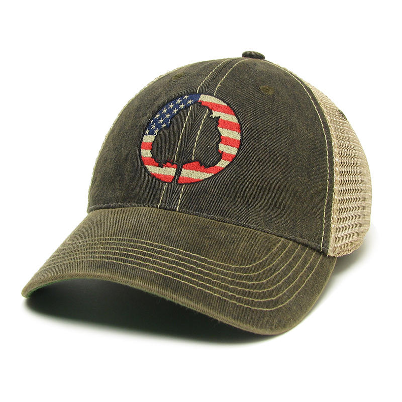 c42d6cedade71f American Flag Hat - Alabama Outdoors