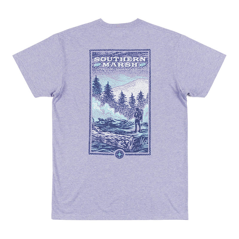 33c58b32 Southern Marsh Men's Relax and Explore Trail Short-Sleeve T-Shirt - Water  and Oak Outdoor Company