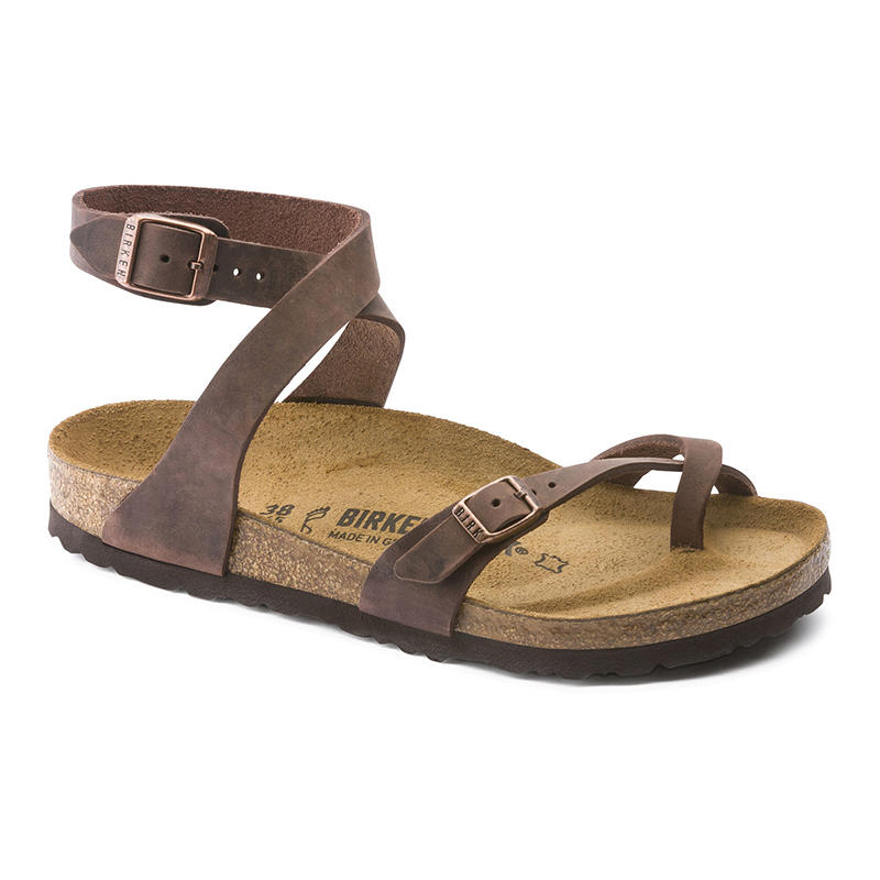 1f040066866 Birkenstock Women s Yara Tobacco Leather Sandals - Water and Oak Outdoor  Company