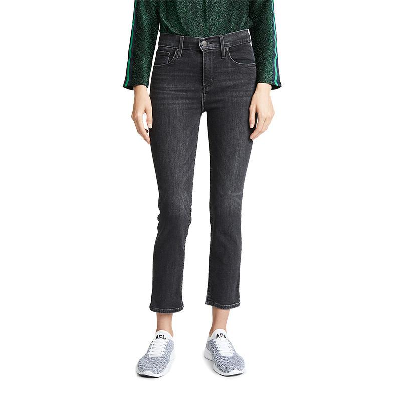 c7edbc4dde7e3 Levi s Women s 724 High Rise Straight Crop Jeans - Alabama Outdoors