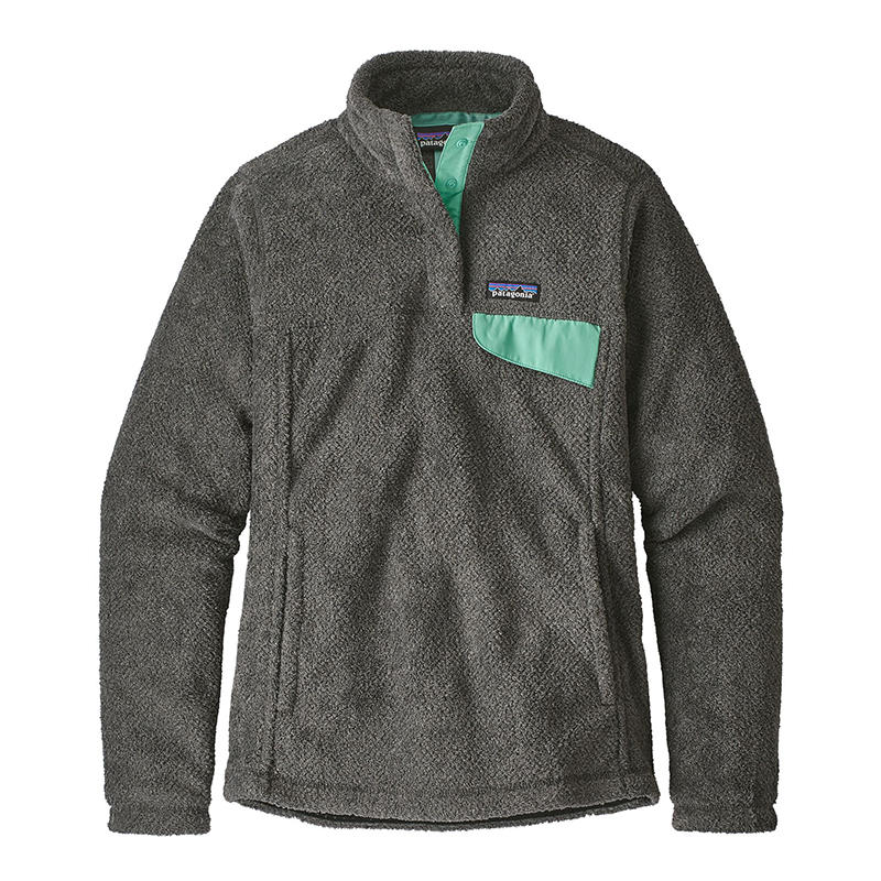 Patagonia Women s Re-Tool Snap-T Fleece Pullover - Water and Oak ... 416138d830