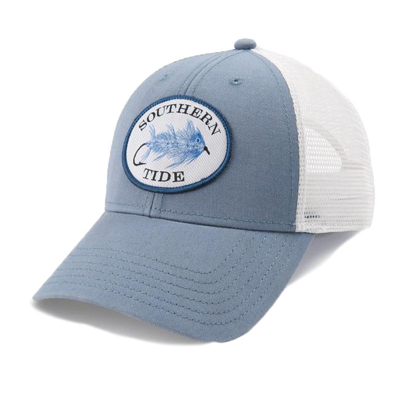 13590c2e277e2 Southern Tide Men s Skipjack Fly Patch Washed Trucker Hat - Alabama Outdoors