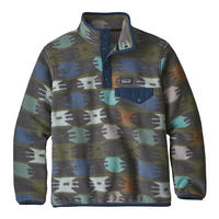 507a41bf2 Patagonia Boys  Lightweight Synchilla Snap-T Fleece Pullover ...