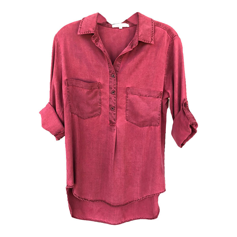 76f7ed8737d47 Side Stitch Women s Pleat Front Tunic - Alabama Outdoors