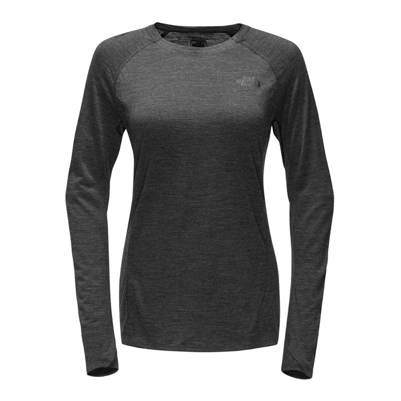 08b831aed The North Face Women's Wool Long-Sleeve Crew Baselayer