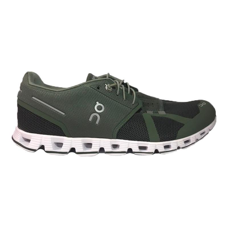 mens green running shoes