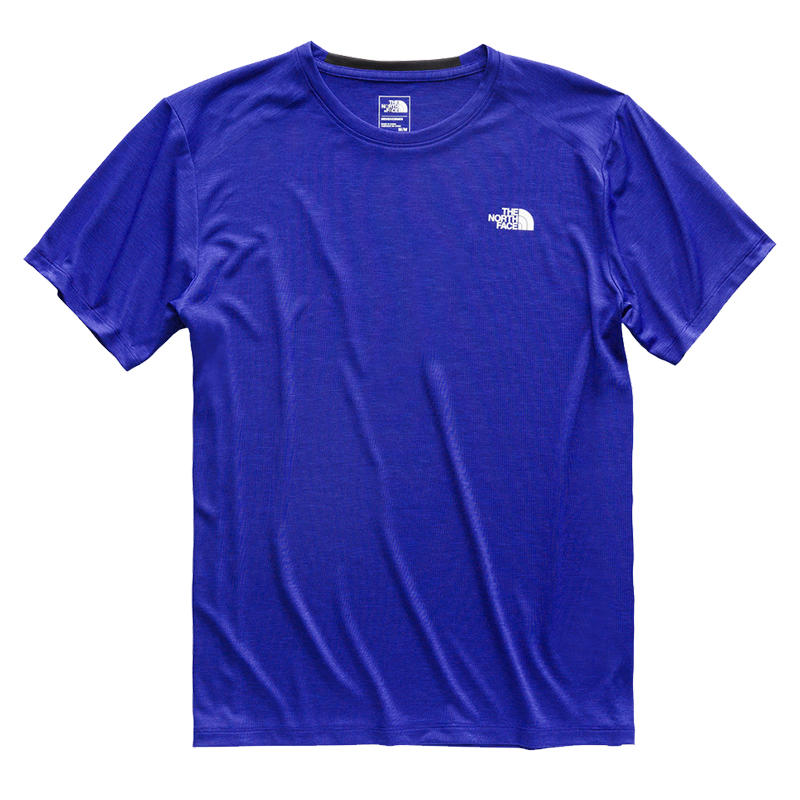 27bf46ac011ff The North Face Men s HyperLayer FD Short-Sleeve Crew - Water and Oak  Outdoor Company