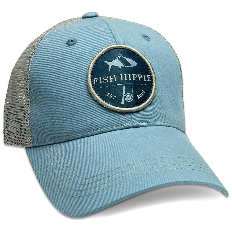 Fish Hippie Shadow Cast Trucker Hat - Water and Oak Outdoor Company 5f4b9fc5780