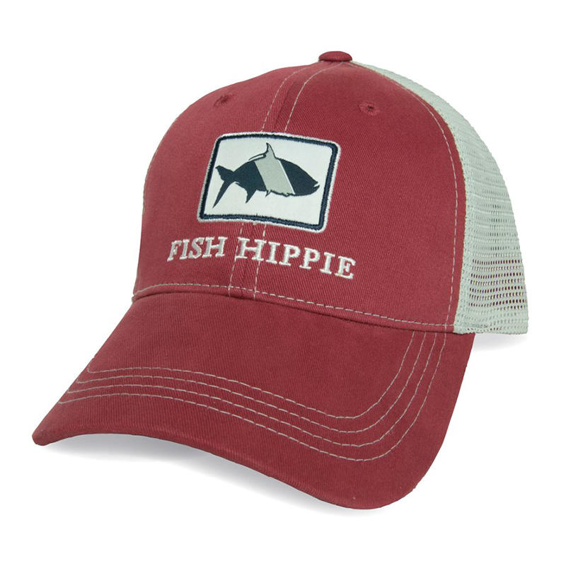 227864754a001 Fish Hippie Classic Trucker Hat - Alabama Outdoors