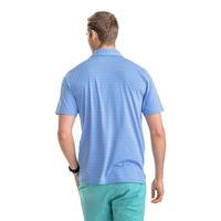 Southern Tide Men's Fantail Stripe Short-Sleeve Performance Polo