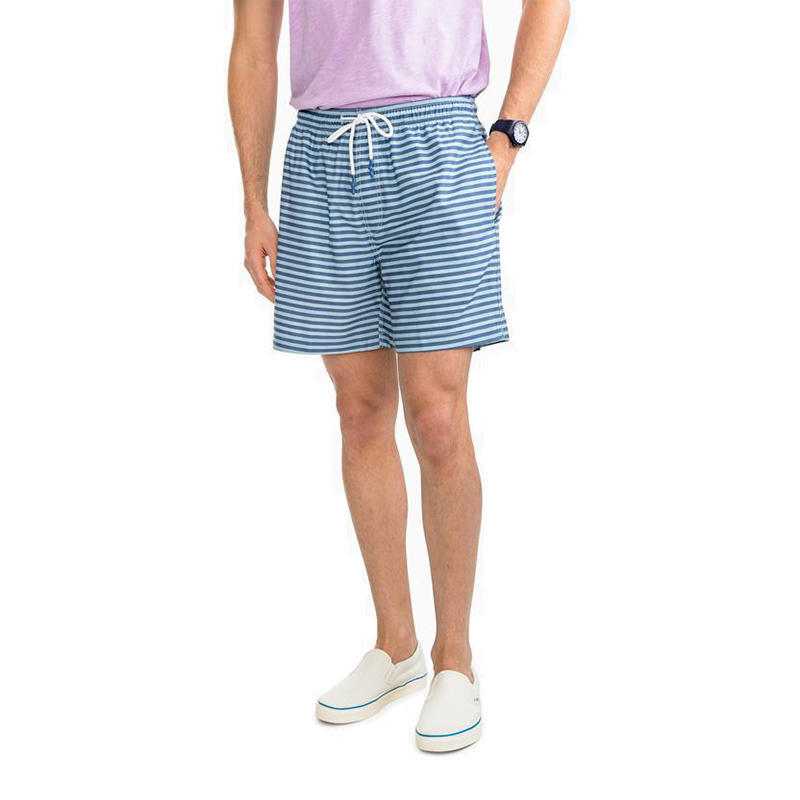 2a4e87eb0c71a Southern Tide Men's Bay Stripe Swim Trunks - Water and Oak Outdoor ...