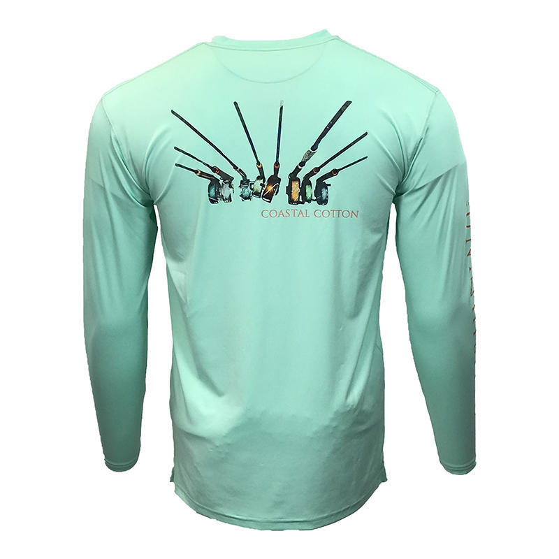 fe50c04050e1 Coastal Cotton Men's Performance Long-Sleeve T-Shirt - Water and Oak ...
